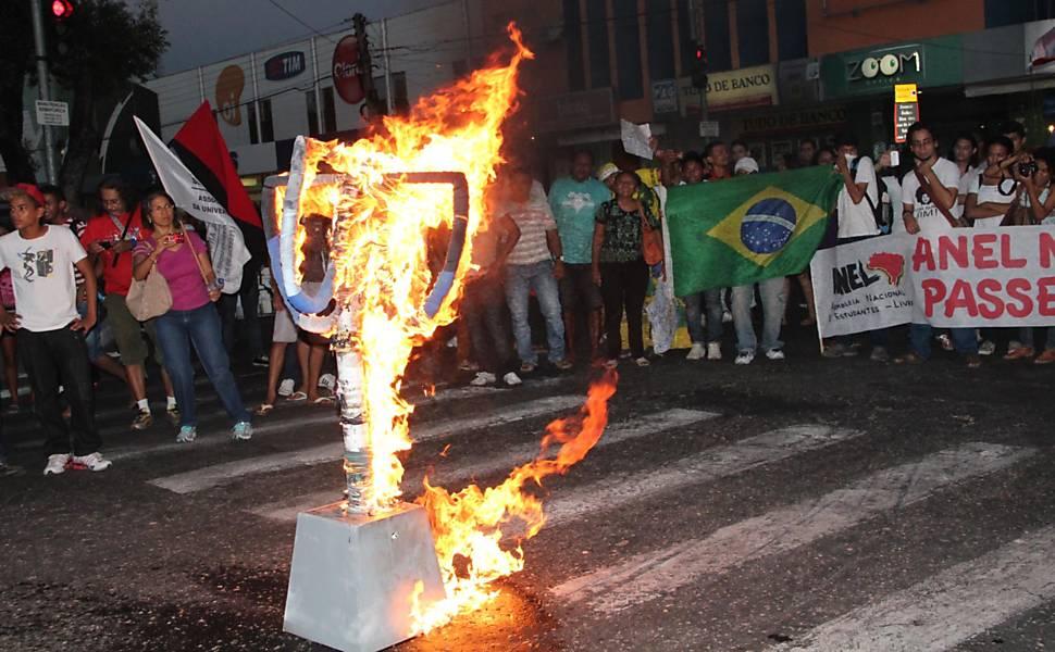 Protesto em Teresina (PI)